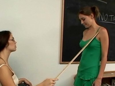 fetish  lesbian  old and young  school girl  teacher