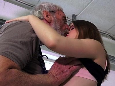 ass  fuck  girl  hubby  old man  party
