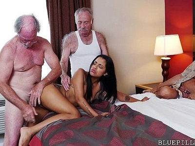 hottie  latin  old and young