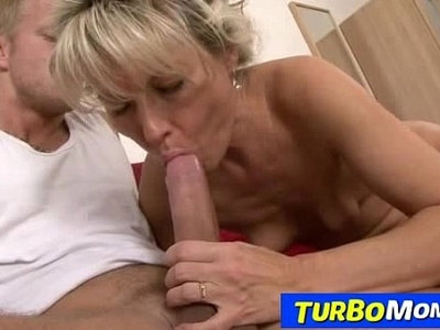 blonde   czech   hairy   lady   mom   rough