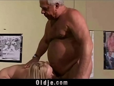fuck  girl  grandpa  old and young  vintage