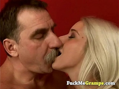 blonde  dirty  fuck  old and young  old man  stunning