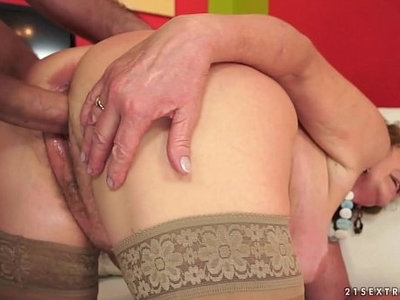 dick   hairy   older woman